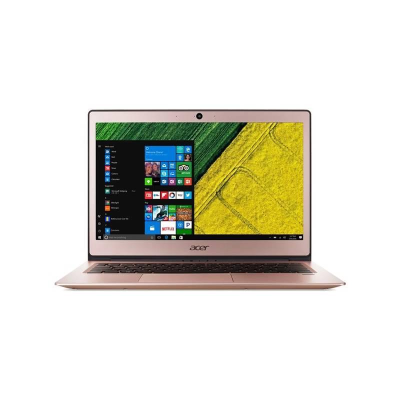 Notebook Acer Swift 1 (SF113-31-P2XQ) (NX.GPQEC.001) ružový/zlatý + Doprava zadarmo