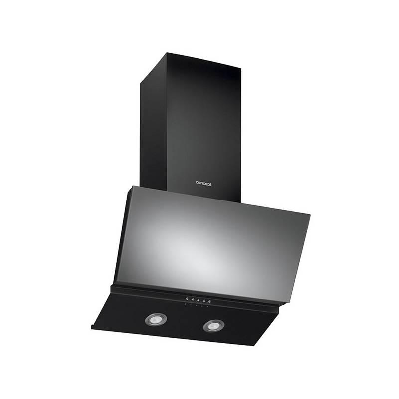 Odsávač pár Concept OPK2160 čierny/sklo