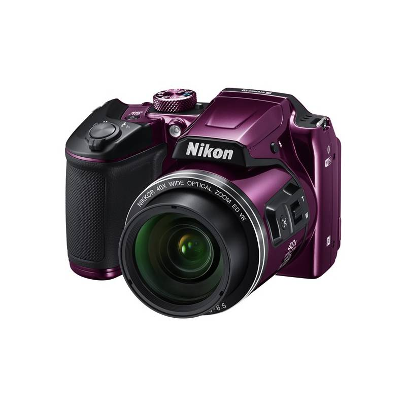 Digitálny fotoaparát Nikon Coolpix B500 fialový + Doprava zadarmo