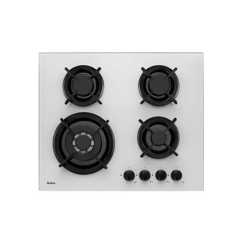 Plynová varná deska Amica PGCZ 6411 W bílá