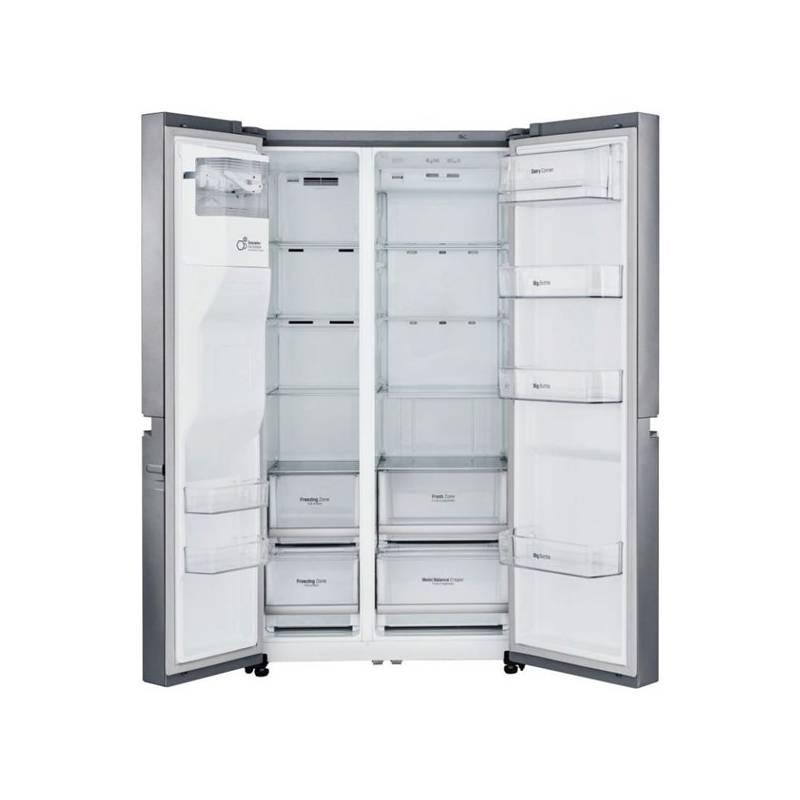Kombinácia chladničky s mrazničkou LG GSL760PZUZ nerez + Doprava zadarmo