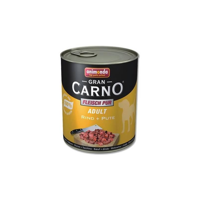 Konzerva Animonda Adult Gran Carno Plus hovězí + krocan 800g