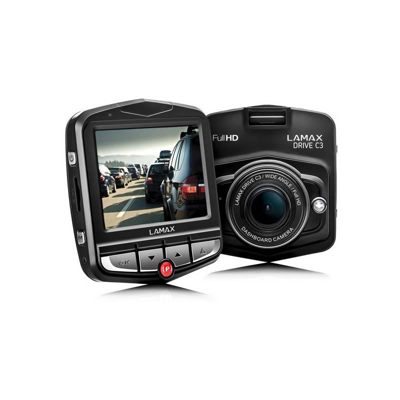 Autokamera LAMAX Drive C3 čierna