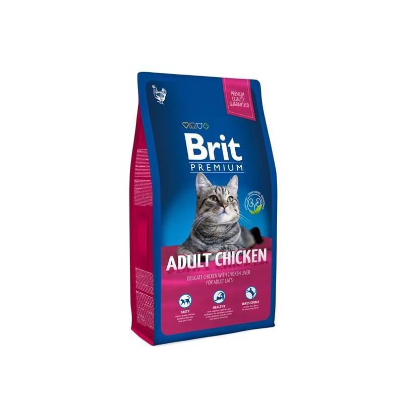 Granule Brit Premium Cat Adult Chicken 1,5kg