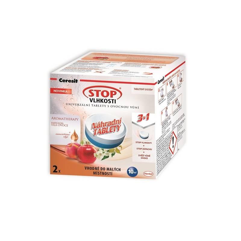 Náhradní tablety do pohlcovače vlhkosti Ceresit Stop vlhkosti Micro 3v1 Energická síla ovoce