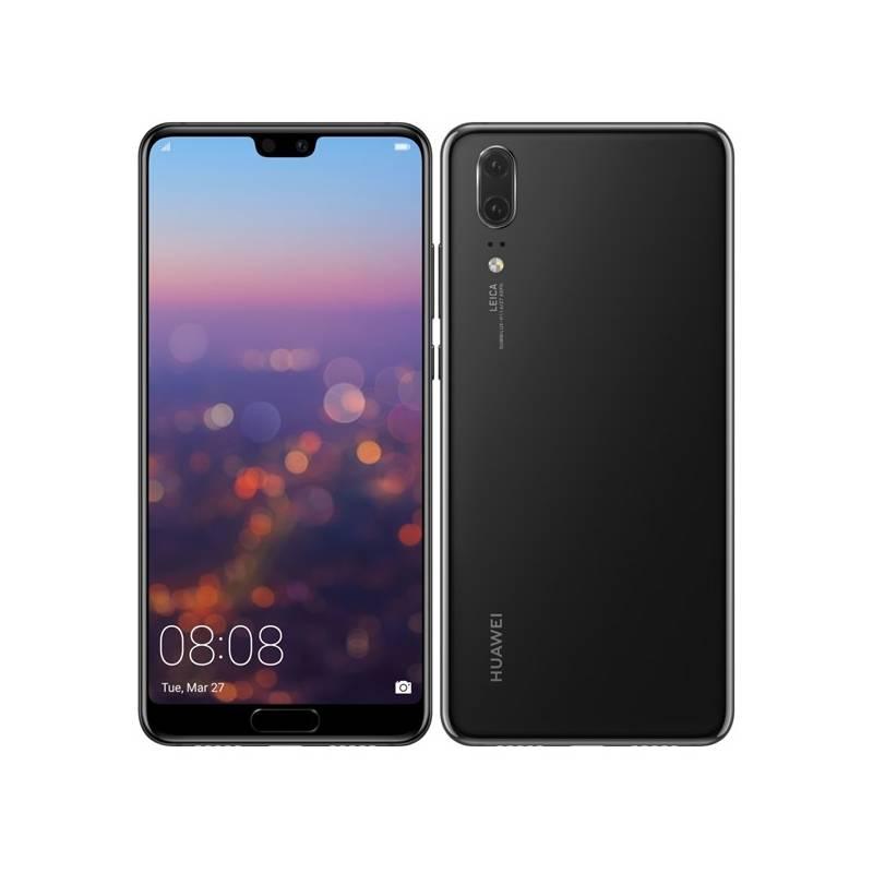 Mobilný telefón Huawei P20 Dual SIM (SP-P20DSBOM) čierny Software F-Secure SAFE, 3 zařízení / 6 měsíců (zdarma)Osobní váha Huawei AH100 (zdarma)Fitness náramek Huawei Color Band A2 - černé (zdarma) + Doprava zadarmo