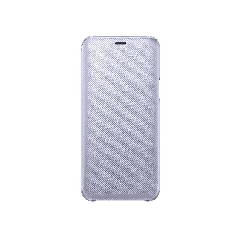 Puzdro na mobil flipové Samsung Wallet Cover pro Galaxy J6 (EF-WJ600C) - levandulové (EF-WJ600CVEGWW)