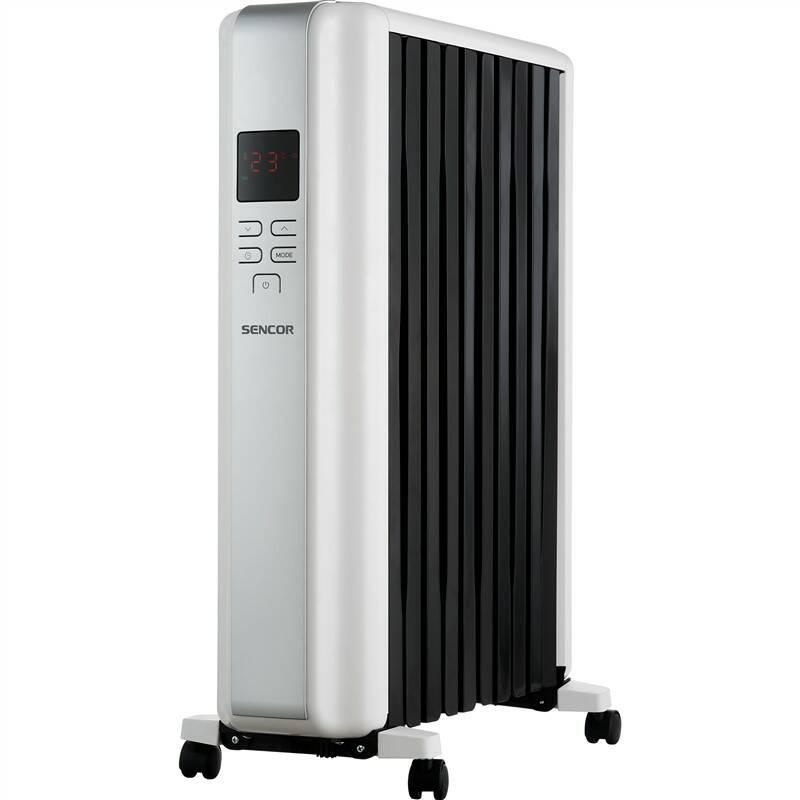 Olejový radiátor Sencor SOH 8110WH bílý