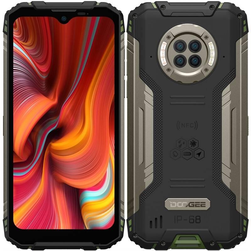 Mobilný telefón Doogee S96 PRO Dual SIM (DGE000593) zelený
