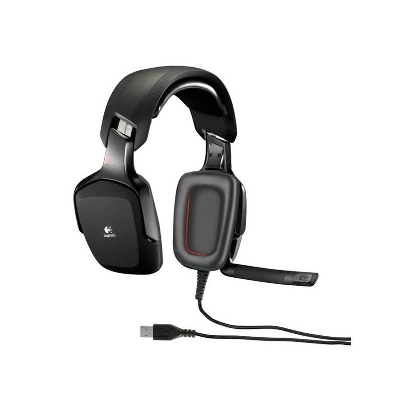Headset Logitech Gaming G35 7.1 (981-000549) čierny