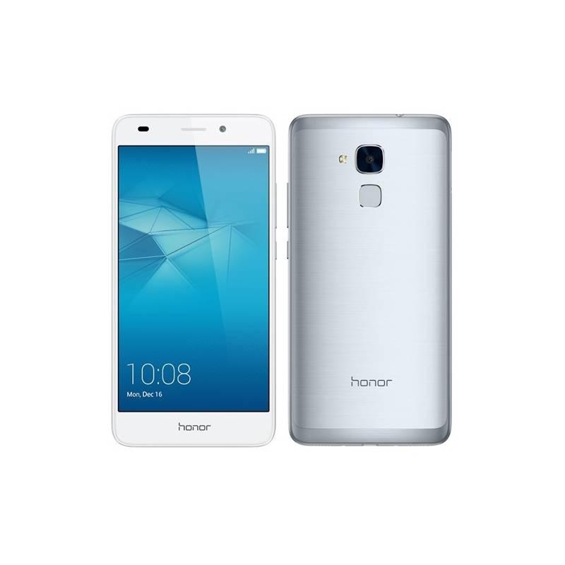 Mobilný telefón Honor 7 Lite Dual SIM (51090NYQ) strieborný