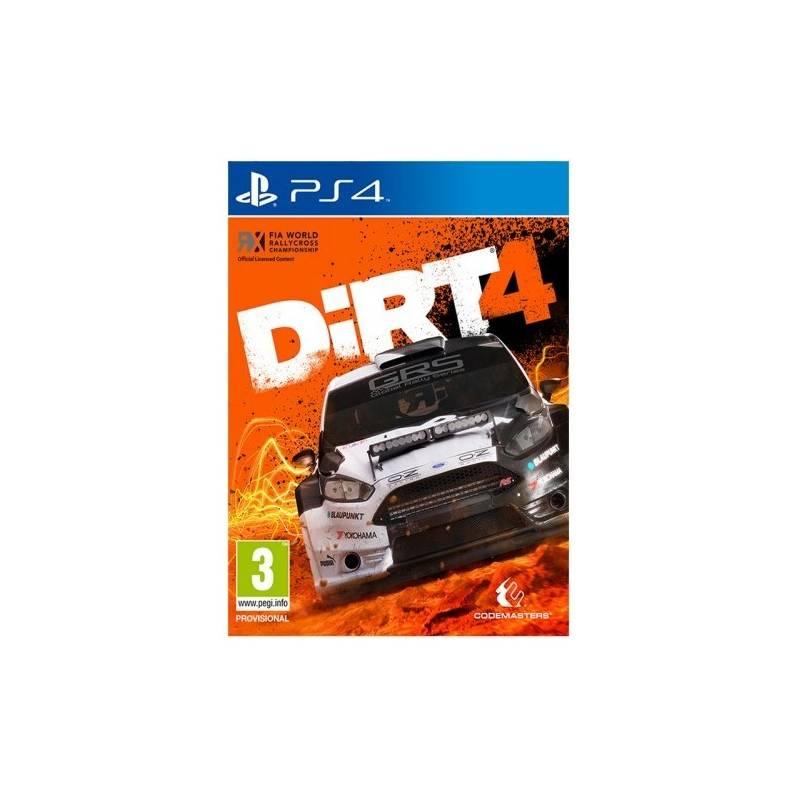 Hra Codemasters PlayStation 4 Dirt 4 (4020628785604)