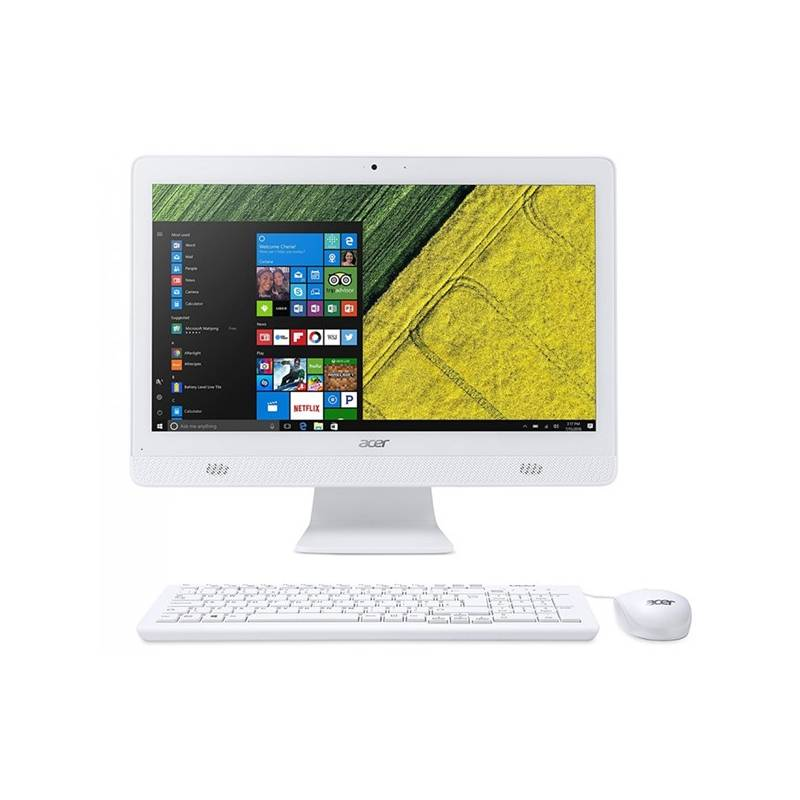 PC all in-one Acer Aspire C20-720 (DQ.B6XEC.002) biely