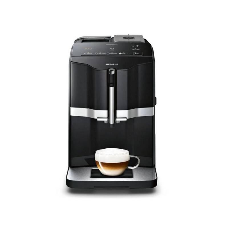 Espresso Siemens EQ.3 TI301209RW čierne/strieborné + Doprava zadarmo
