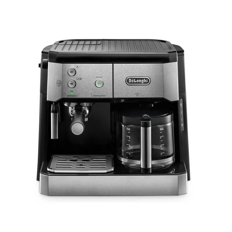 Espresso DeLonghi BCO421.S čierne/strieborné