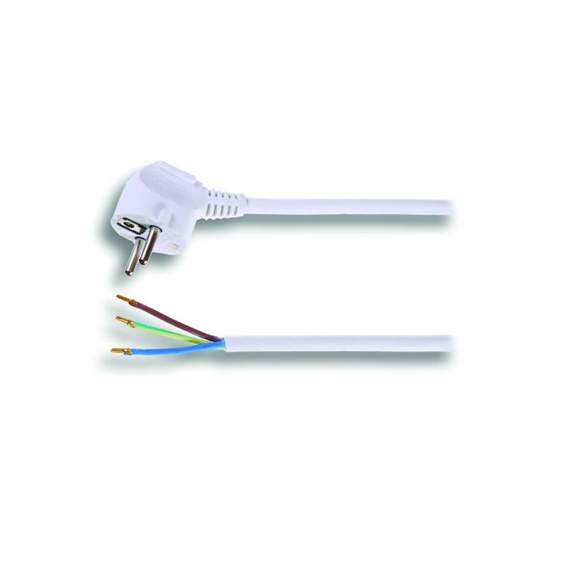Kábel Solight Flexo šňůra, 2m, 3 x 1mm2 biele
