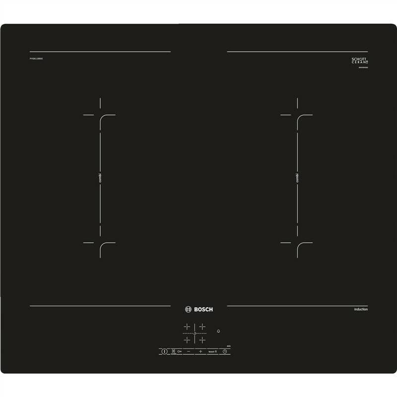 Indukční varná deska Bosch PVQ611BB5E černá