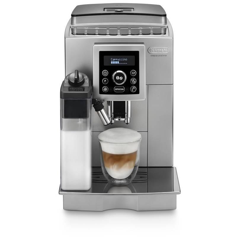 Espresso DeLonghi Intensa ECAM23.460S strieborné + Doprava zadarmo