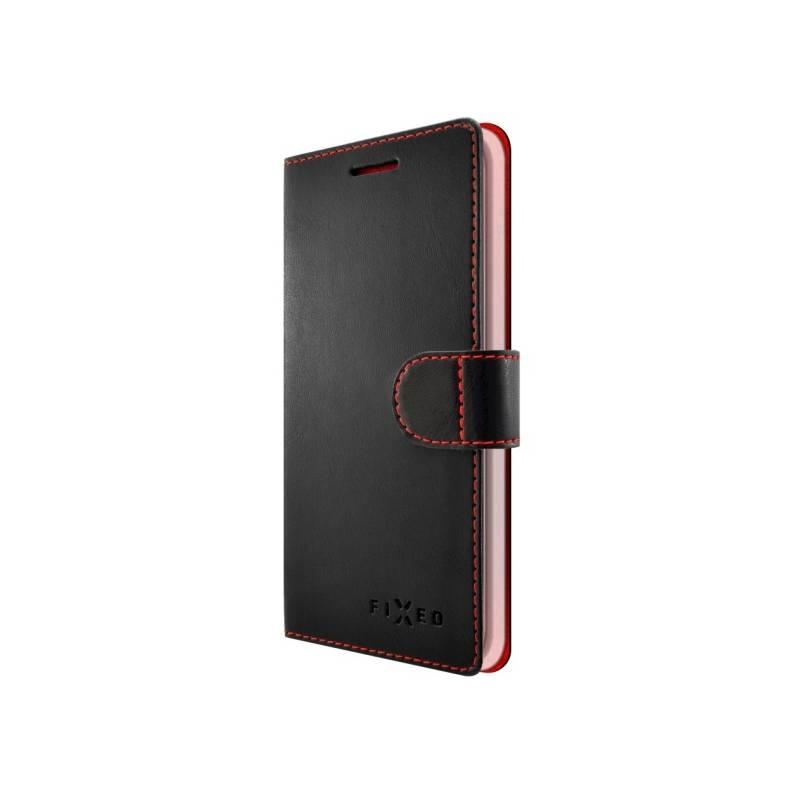 Puzdro na mobil flipové FIXED FIT pro Samsung Galaxy A8 (2018) (FIXFIT-261-BK) čierne