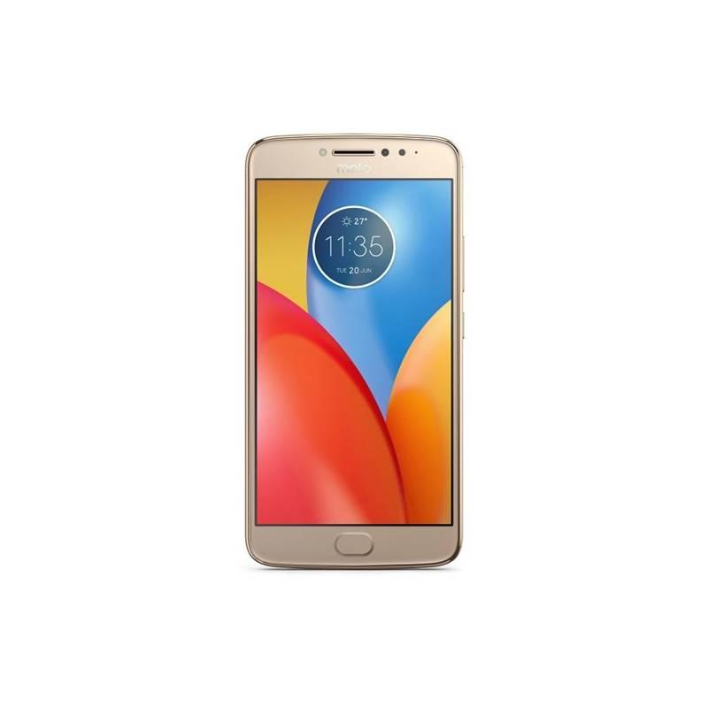 Mobilný telefón Motorola E4 Plus, dual SIM, Fine Gold (442084)