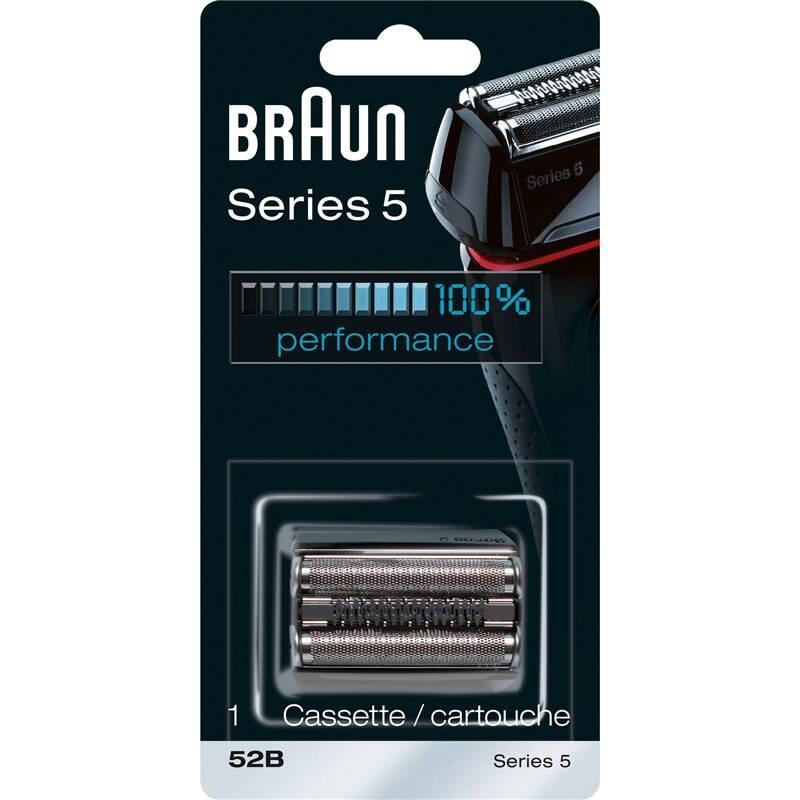 Príslušenstvo pre holiace strojčeky Braun CombiPack Braun Series 5 FlexMotion - 52B čierne