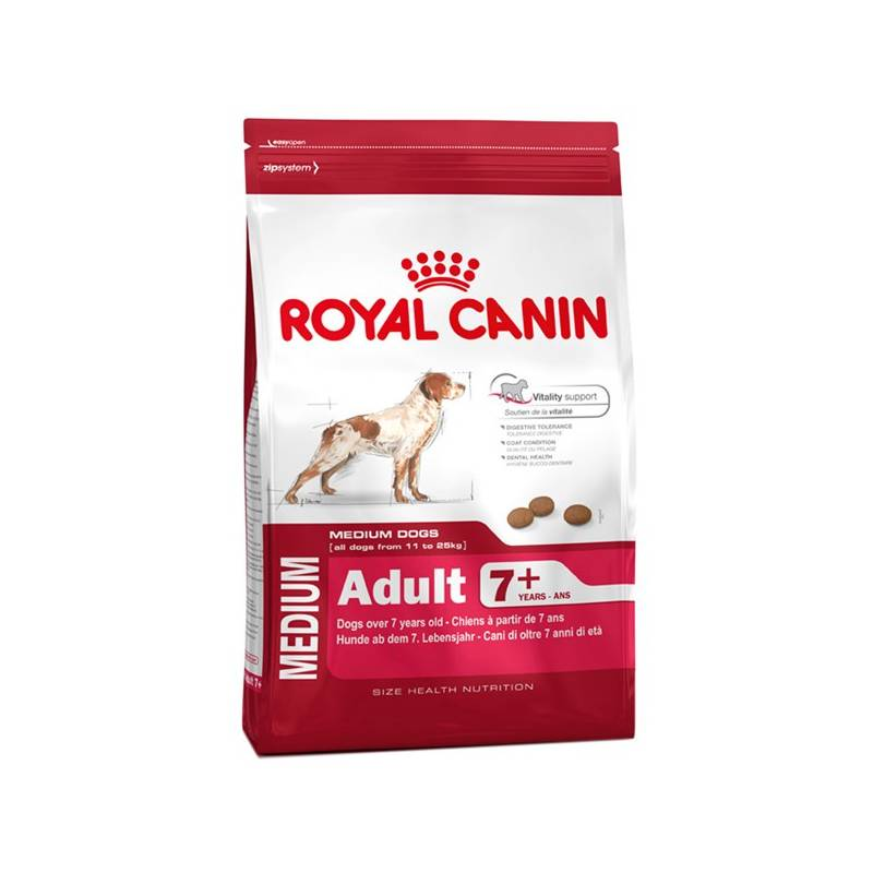 Granule Royal Canin Medium Adult +7 15 kg