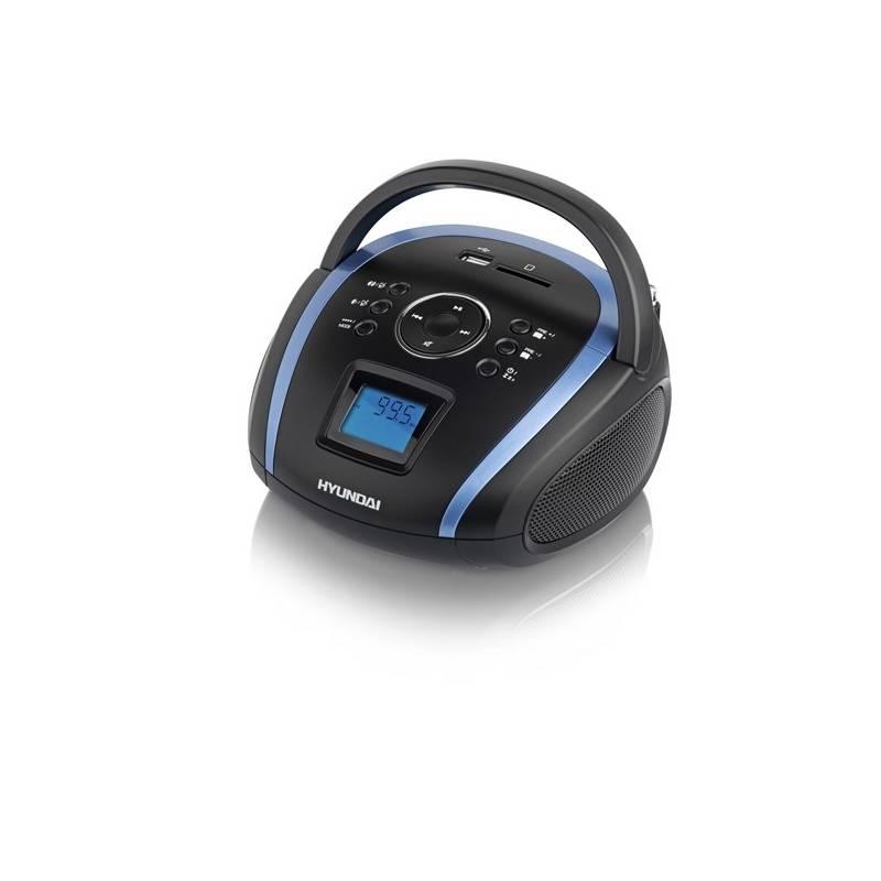 Rádioprijímač Hyundai TR 1088B T3BBL čierny/modrý + Doprava zadarmo