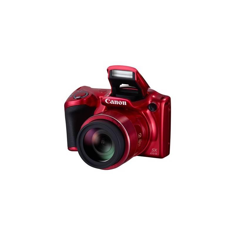 Digitálny fotoaparát Canon PowerShot SX410 IS (0108C002) červený