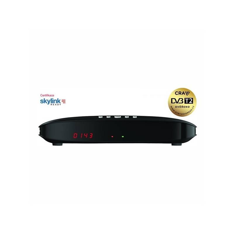 Satelitný prijímač GoSat GS7075 COMBOi HD (GS7075) čierny