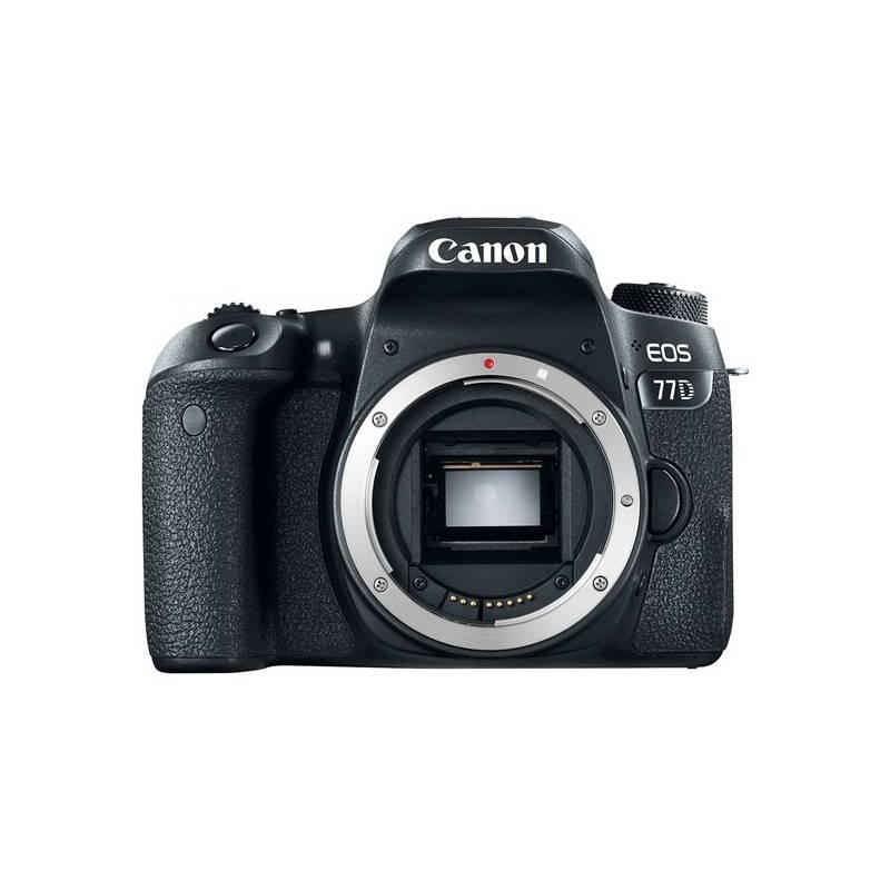 Digitálny fotoaparát Canon EOS 77D (1892C003AA) čierny