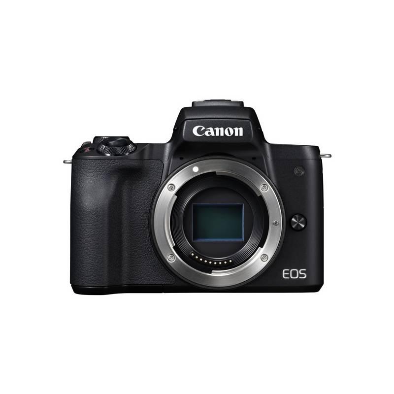 Digitálny fotoaparát Canon EOS M50, tělo (2680C002) čierny + Doprava zadarmo
