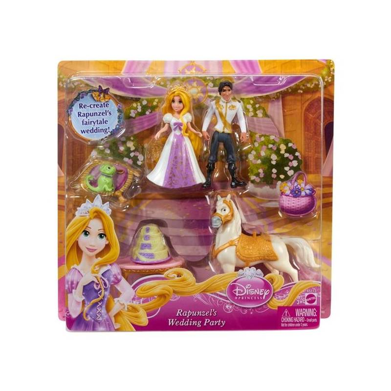 Panenka Mattel Disney Princess Locika Svatebni Hostina Kasa Cz