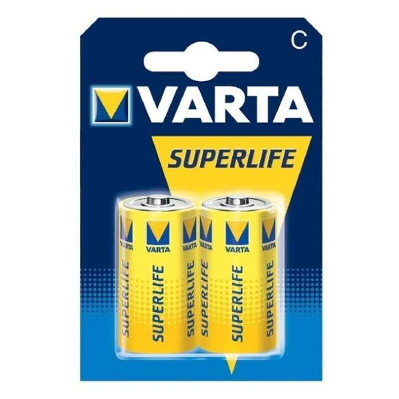 Batéria Varta Superlife, C, 2 ks