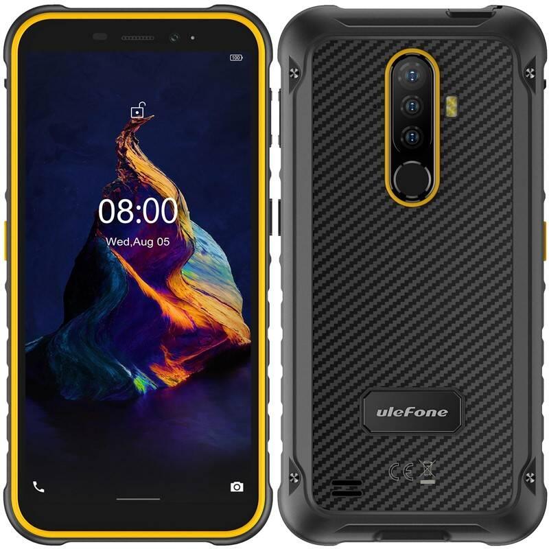 Mobilný telefón UleFone Armor X8 Dual SIM (ULE000398) oranžový