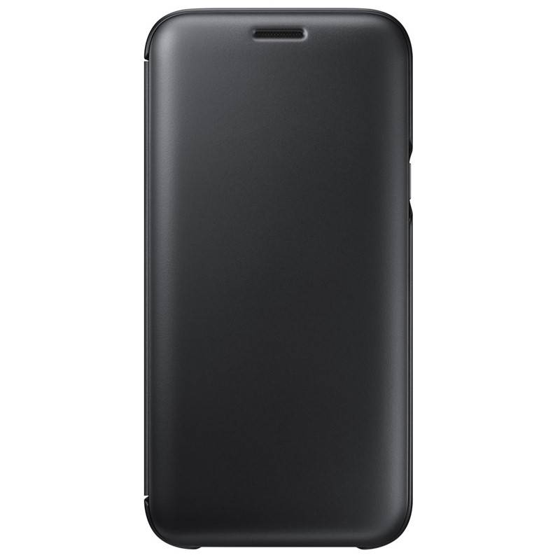Pouzdro na mobil flipové Samsung Wallet Cover pro J5 2017 (EF-WJ530CBEGWW) černé