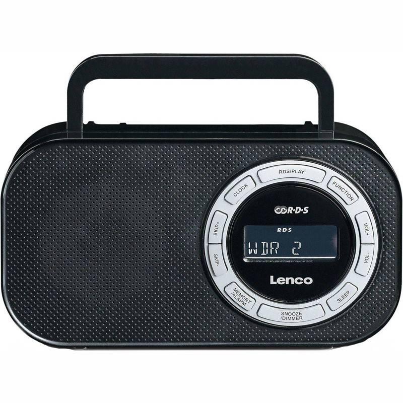 Radiopřijímač Lenco PR-2700 černý