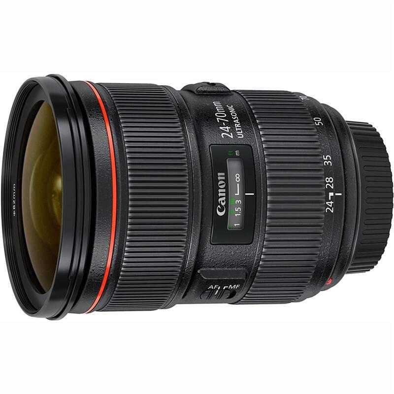 Objektív Canon EF 24-70 mm f/2.8 L II USM (5175B005AA) čierny + Doprava zadarmo