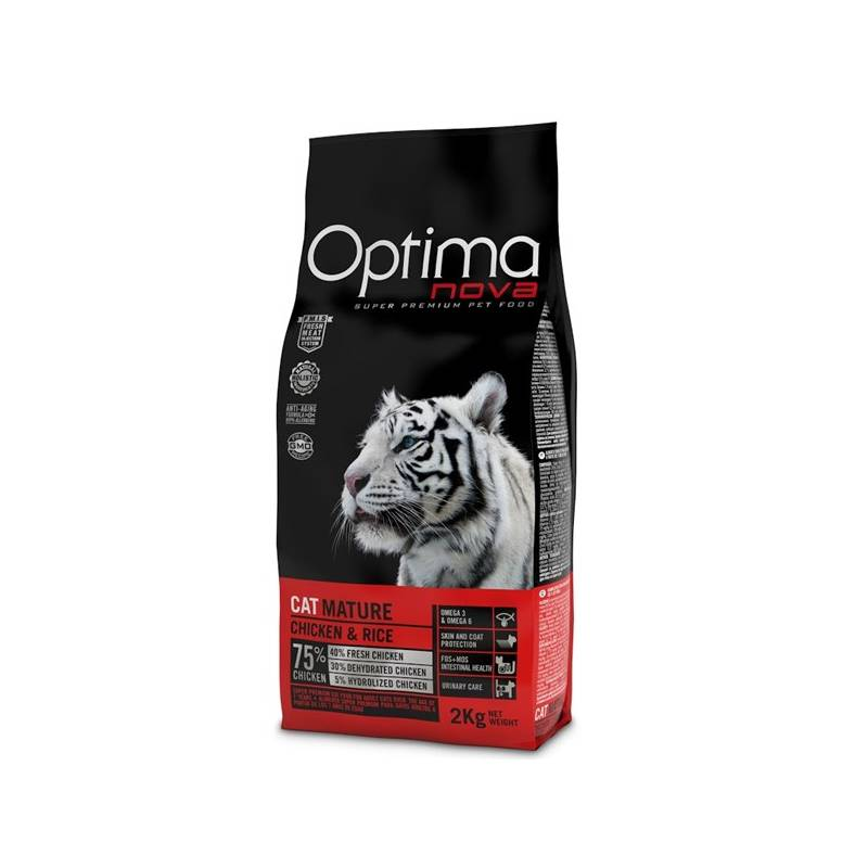 Granule Optima nova Cat Mature 2 kg