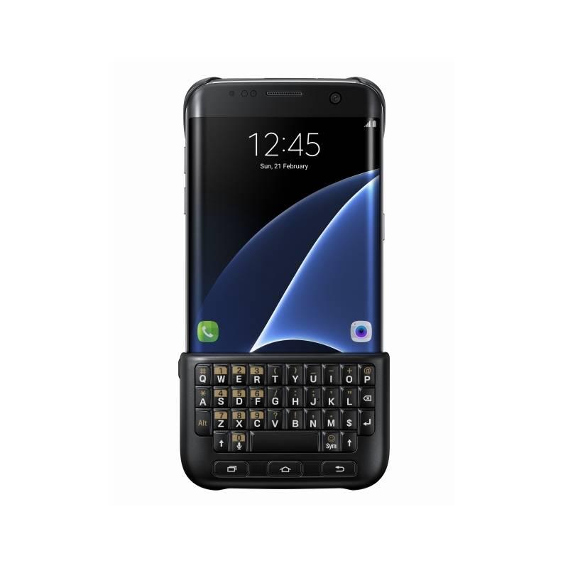 Kryt na mobil Samsung s klávesnicí pro Galaxy S7 Edge (EJ-CG935UBEGGB) černý