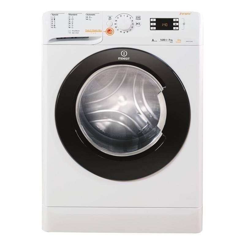 Automatická pračka se sušičkou Indesit XWDE 961480X WKKC EU bílá