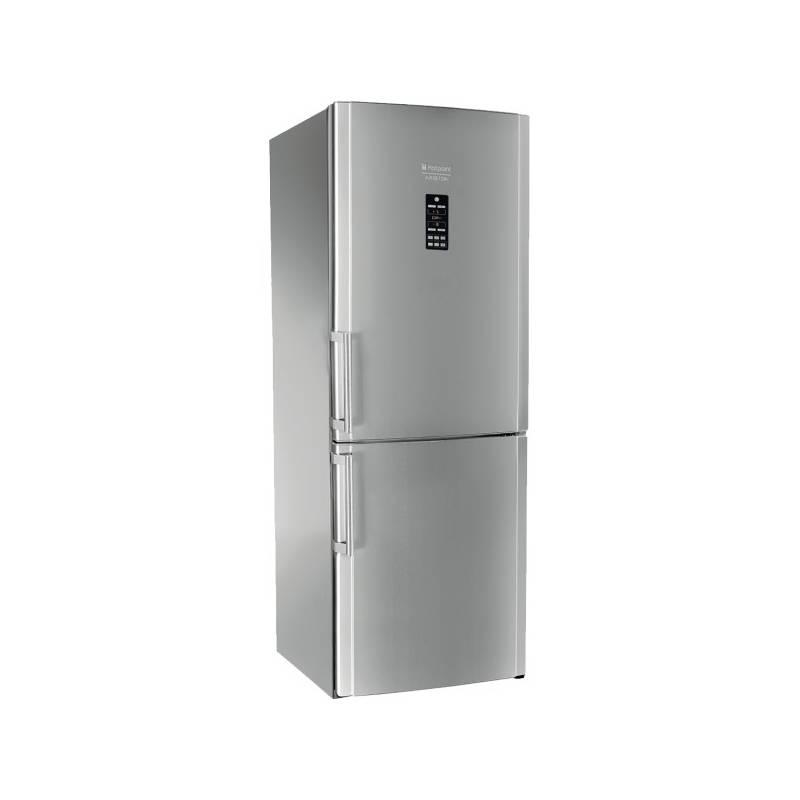 Kombinácia chladničky s mrazničkou Hotpoint-Ariston ENBGH 19423 FW nerez + Doprava zadarmo