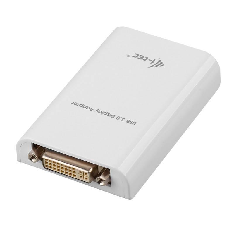 Redukcia i-tec Advance USB 3.0/DVI, HDMI, VGA (USB3HDTRIO) biela