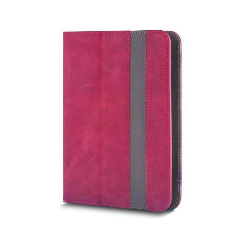 """Púzdro na tablet flipové GreenGo Fantasia na tablet 7-8"""" (GSM012856) červené"""