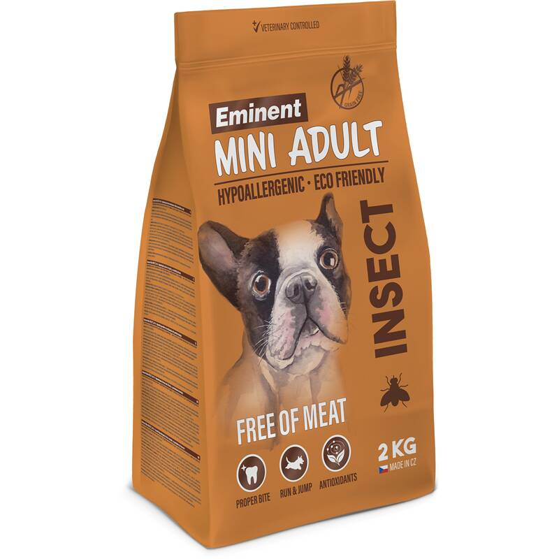 Granuly Eminent MINI Adult INSECT 2 kg