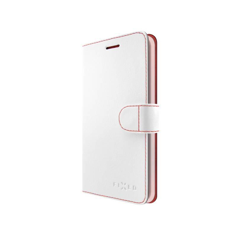 Puzdro na mobil flipové FIXED FIT pro Honor 9 (FIXFIT-215-WH) biele