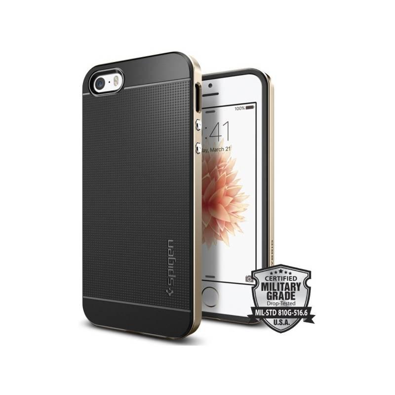 Kryt na mobil Spigen Neo Hybrid Apple iPhone 5/5s/SE - champagne gold (041CS20250)