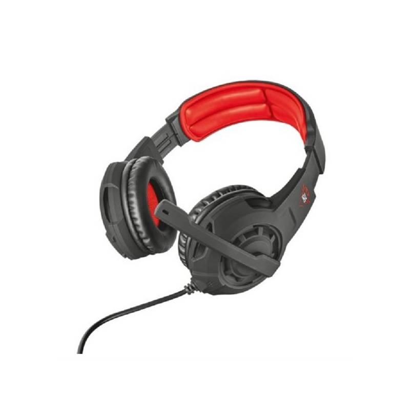 Headset Trust GXT Gaming 310 (21187) čierna farba/červená farba