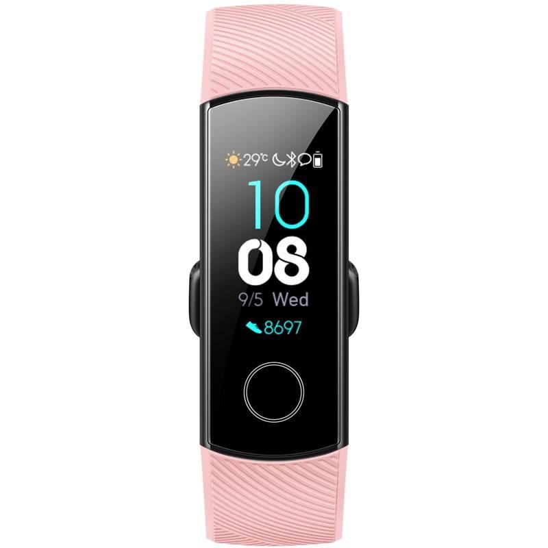 Fitness náramek Honor Band 4 Crius (55023241) růžový