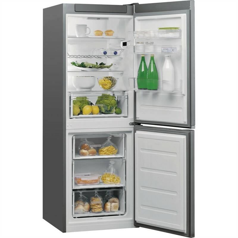Kombinácia chladničky s mrazničkou Whirlpool W5 721E OX nerez + Doprava zadarmo
