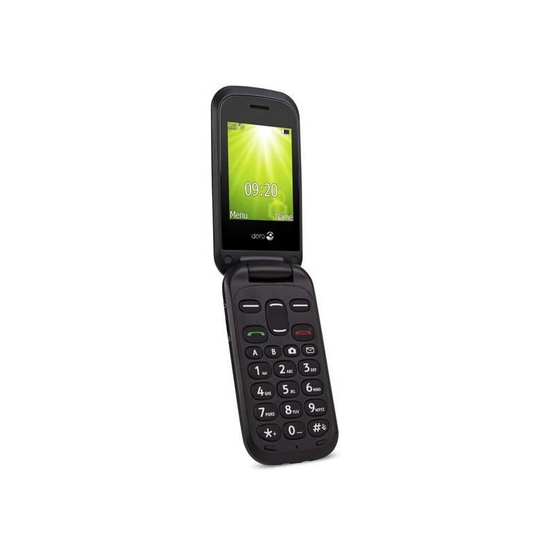 Mobilný telefón Doro 2404 Dual SIM (7366) čierny